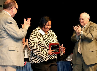 Denise Bell Blakely, recipient of the 2012 Harry Denman Evangelism Award for Clergy